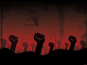 Revolution-fists
