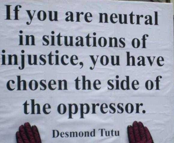 Fight injustice