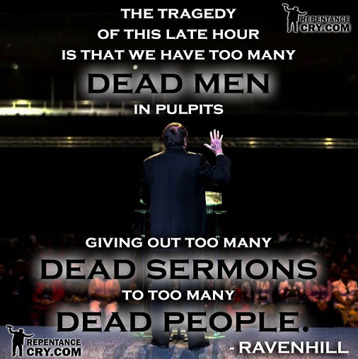 dead men in pulpits