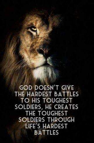 life's hardest battles